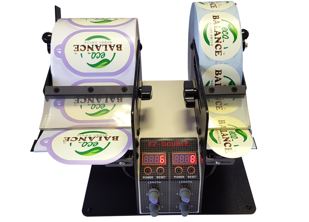 DOUBLE ROLL LABEL DISPENSER